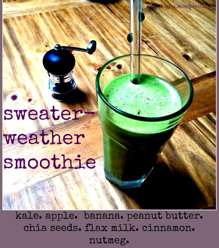 sweater-weather smoothie recipe